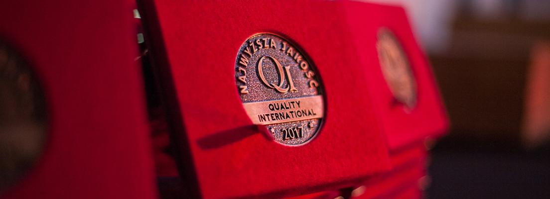 Nagroda NAJWYŻSZA JAKOŚĆ QUALITY INTERNATIONAL 2017 dla Helimedu!
