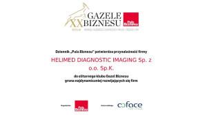 HELIMED Gazelą Biznesu 2019